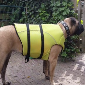 2015-02-08 Mette is klaar voor haar zwemles